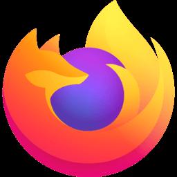 لوجو متصفح Firefox للكمبيوتر