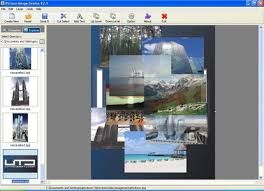 برنامج دمج الصور مع بعض والكتابه عليها للكمبيوتر
